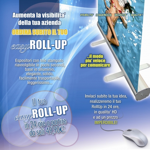 roll up in offerta a 49.00 euro