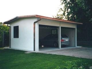 Centro box di fabbri giovanni prefabbricati componibili for Piani di garage prefabbricati