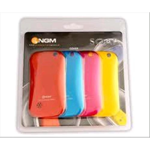 NGM COVER SOAP PACK 4 COVER RED-FUXIA-YELLOW-BLUE