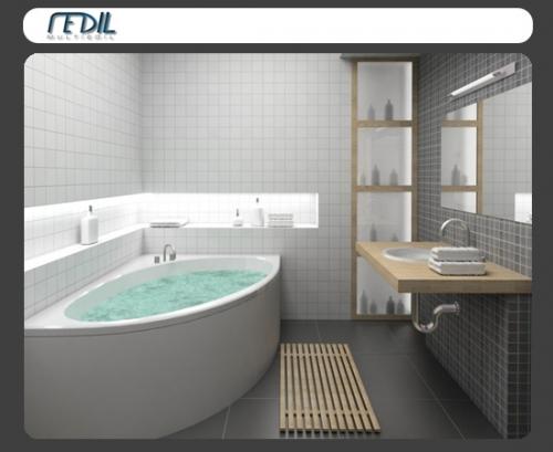 multiedil s.a.s.: ristrutturazioni, arredo bagno, progettazione - Arredo Bagno Esempi