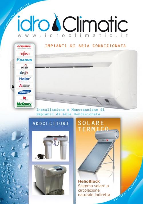 Idroclimatic di roberto manfredini condizionatori for Condizionatori piccoli